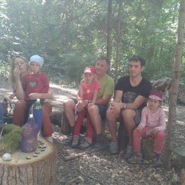 Die Sommerferien sind im Wald angekommen