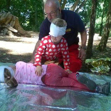 Erste Hilfe-Kurs im Kindergarten