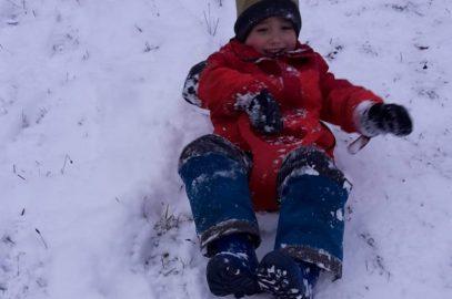 ABC, die Katze lief im Schnee…