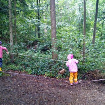 """Erlebnistag mit den """"Waldläufern"""""""