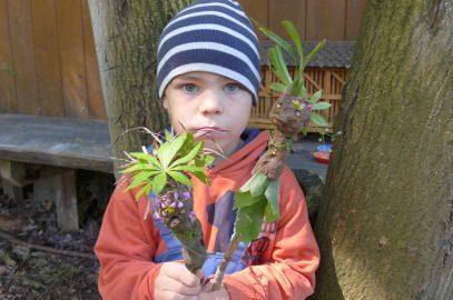 Jubiläum im Waldkindergarten